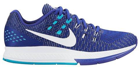 Женские кроссовки для бега Nike Air Zoom Structure 19 (806584 402) голубые