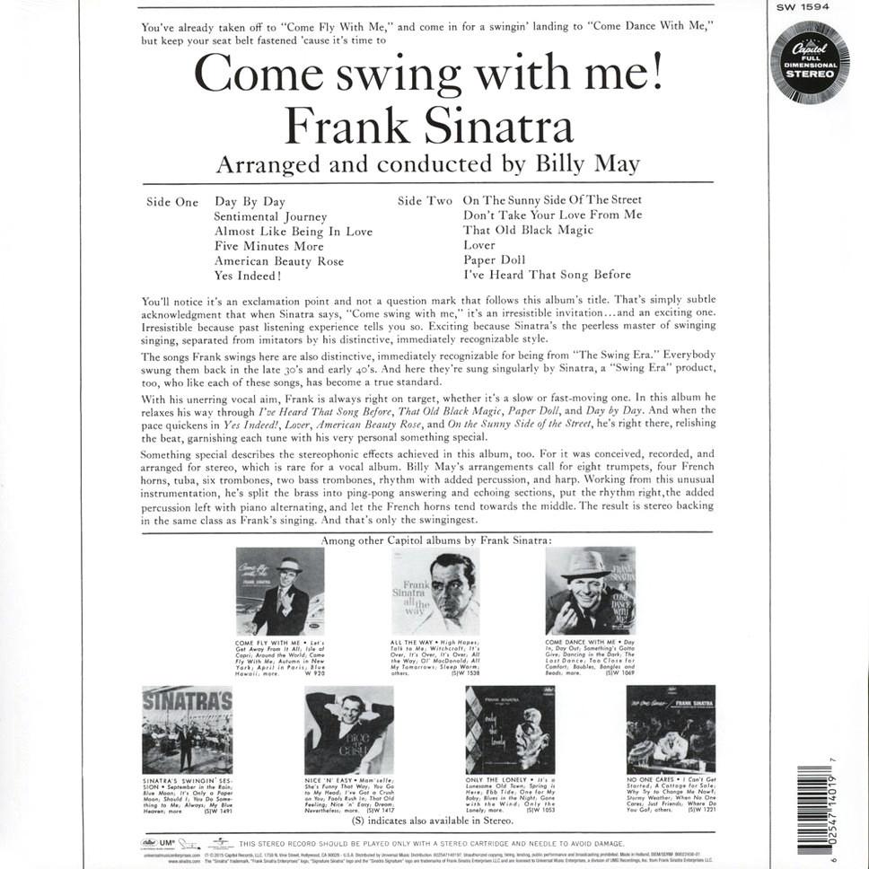 Frank sinatra swinger