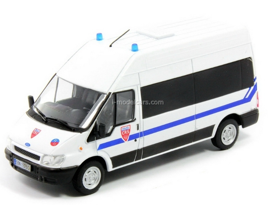 Ford Transit CRS National France Police 1:43 DeAgostini World's Police Car #41
