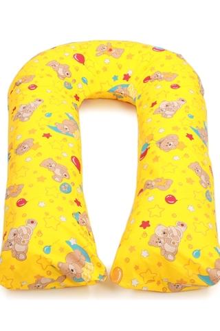 Подушка для беременных U340 (Холлофайбер) 10133 желтый