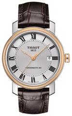 Мужские швейцарские наручные часы Tissot Bridgeport Powermatic T097.407.26.033.00