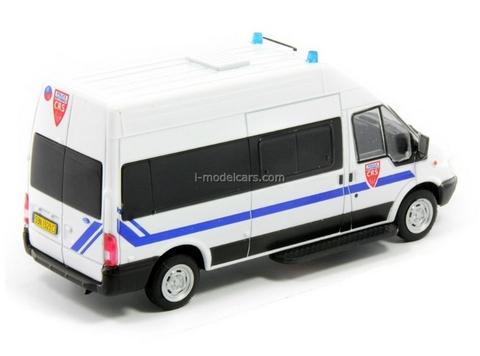Ford Transit CRS National France Police 1:43 DeAgostini World's Police Car #41