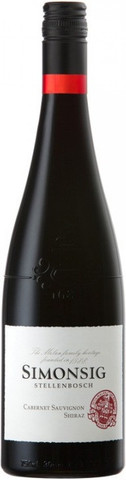 Вино Simonsig, Cabernet Sauvignon-Shiraz, 0.75 л
