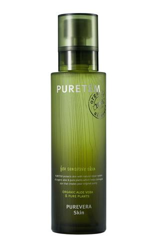 WELCOS Puretem Тонер для лица с экстрактом алоэ вера Puretem Purevera Skin