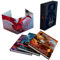 Подарочный набор «D&D Core Rulebook Gift Set»