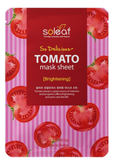 Тканевая маска для лица с экстрактом томата So Delicious Tomato Mask Sheet 25мл