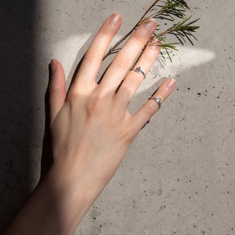 Миди-кольцо AIR / EARTH