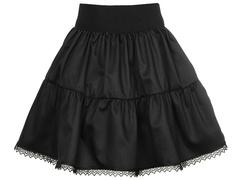 2234-1 юбка детская, черная