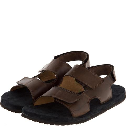 579157 сабо мужские коричневые. КупиРазмер — обувь больших размеров марки Делфино