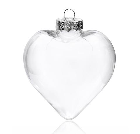 Сердце, пластик, 8х9см.