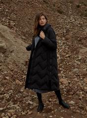 Пальто пуховое 19-1107