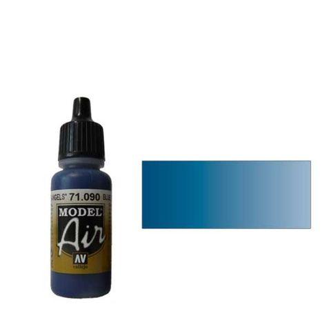 090 Краска Model Air Синий Ангельский (Blue Angel) укрывистый, 17мл