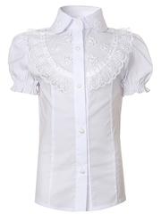 0340 блузка детская, белая