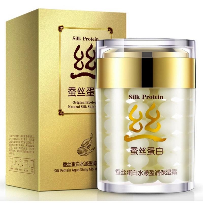 Увлажняющий крем для лица с шелком Silk Protein, 60гр