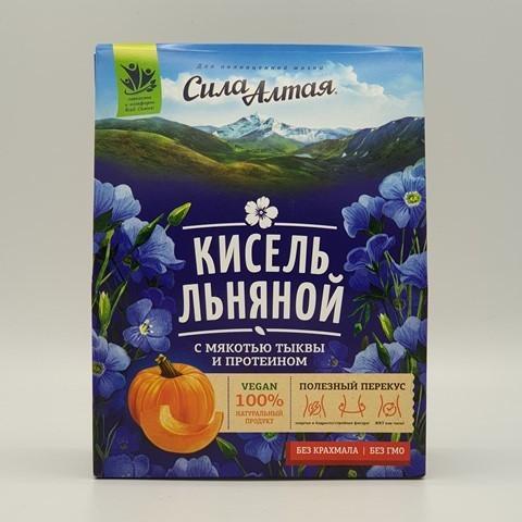 Кисель льняной с мякотью тыквы и протеином СПЕЦИАЛИСТ, 150 гр
