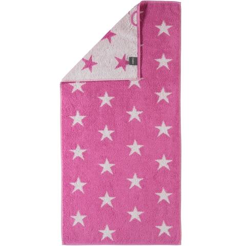 Полотенце 50x100 Cawo Small Stars 525 розовое