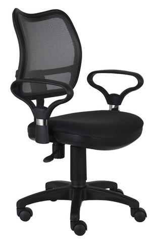 спинка сетка черный сиденье черный TW-11