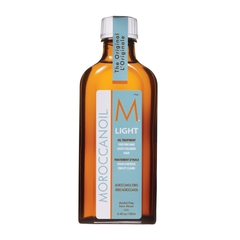 Средство-масло восстанавливающее для тонких и светлоокрашенных волос Moroccanoil light treatment