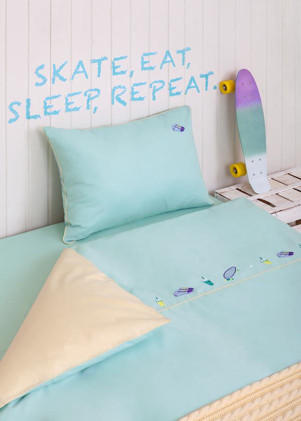 Детское постельное белье в кроватку Luxberry Skate Boy