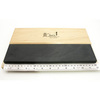 Черный арканзас 30 x 7,5 x 2,5 см