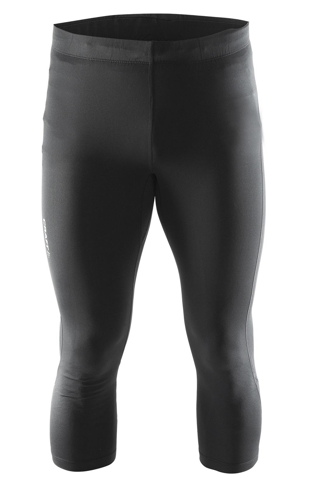 Мужские беговые капри Craft Aсtive 1902510-9999 черные