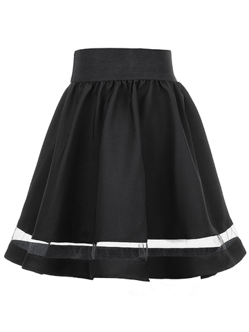 2231-1 юбка детская, черная