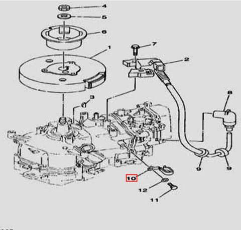 Держатель шланга для лодочного мотора F5 Sea-PRO(11-10)