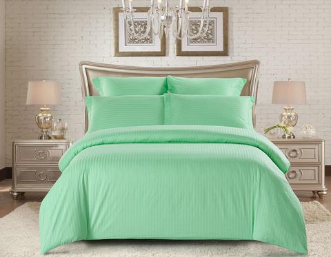 Семейное постельное белье страйп-сатин CST05-01