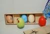 1437 Набор пасхальных яиц (5 шт.) Большой