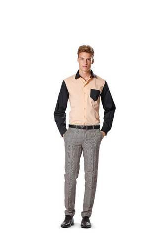 Выкройка Burda (Бурда) 6931 — Мужская рубашка