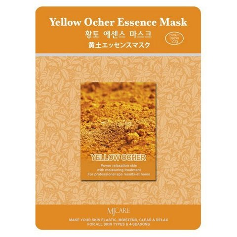 MIJIN Маска тканевая охра Yellow Ocher Essence Mask