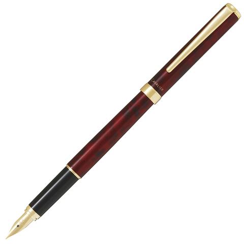 Перьевая ручка Pilot Cavalier 2017 (Black & Red, перо Fine)