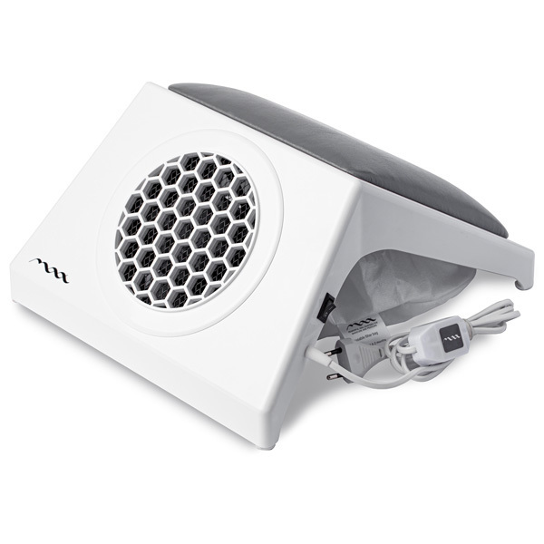 Настольная вытяжка для маникюра MAX Ultimate 4 Белый (65Вт max), с подушкой GREY фото