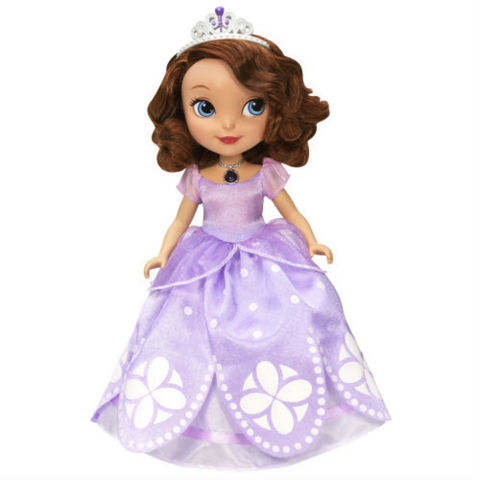Кукла София Прекрасная (Sofia) Базовая 25 см - Sofia the First, Mattel