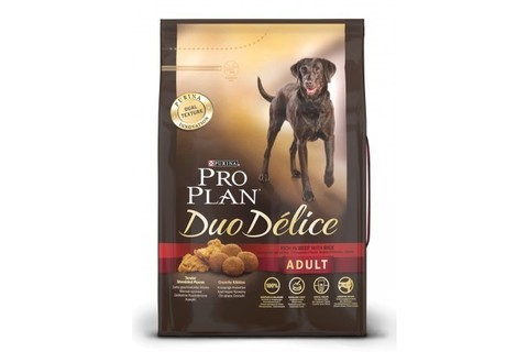 Pro Plan Duo Délice Adult с лососем 10 кг