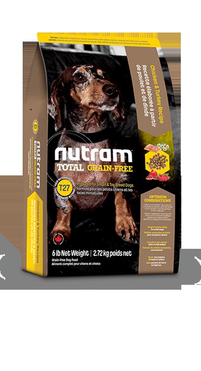 Сухой корм Корм для собак Nutram T27 беззерновой, с индейкой, курицей и уткой 3077qrufo35m.png