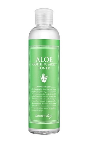 Тоник для лица с экстрактом алоэ Sekret Key Aloe Soothing Moist Toner, 248мл