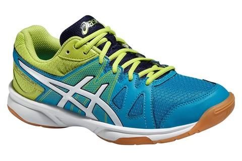 Детские волейбольные кроссовки Asics Gel-Upcourt GS (C413N 4201) голубые