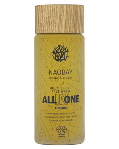 Мужской очищающий гель для лица, Naobay