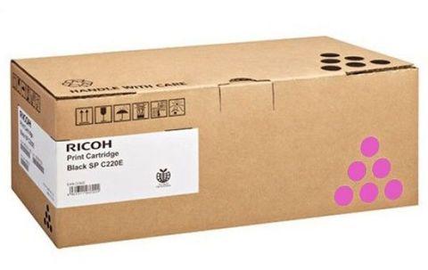 Принт-картридж Ricoh SP C352E, пурпурный. Ресурс 6000 стр. (407385)