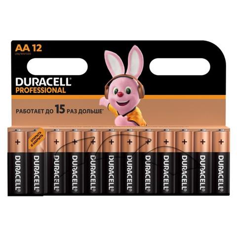 Батарейки Duracell АА/LR06 Professional 12  шт/уп