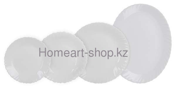 Столовый сервиз Luminarc Arcopal White на 6 персон - 19 пр.
