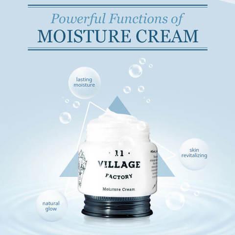 Увлажняющий крем с эко-церамидами, 55 мл / Village 11 Factory Moisture Cream