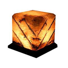 """Солевая лампа """"Куб-арома"""" 1-2 кг"""