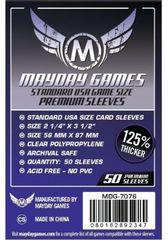 Протекторы для настольных игр Mayday Premium USA Board Game (56x87) - 50 штук