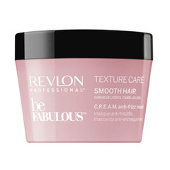 Revlon Professional Be Fabulous C.R.E.A.M. Smooth Hair Mask - Разглаживающая маска для волос