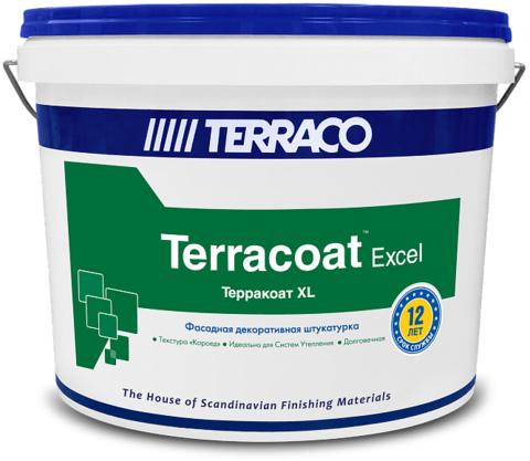 Terraco Terracoat XL/Террако Терракоат XL декоративное покрытие на акриловой основе с текстурой «короед»