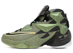 Мужские Кроссовки Nike Lebron XIII Khaki Black