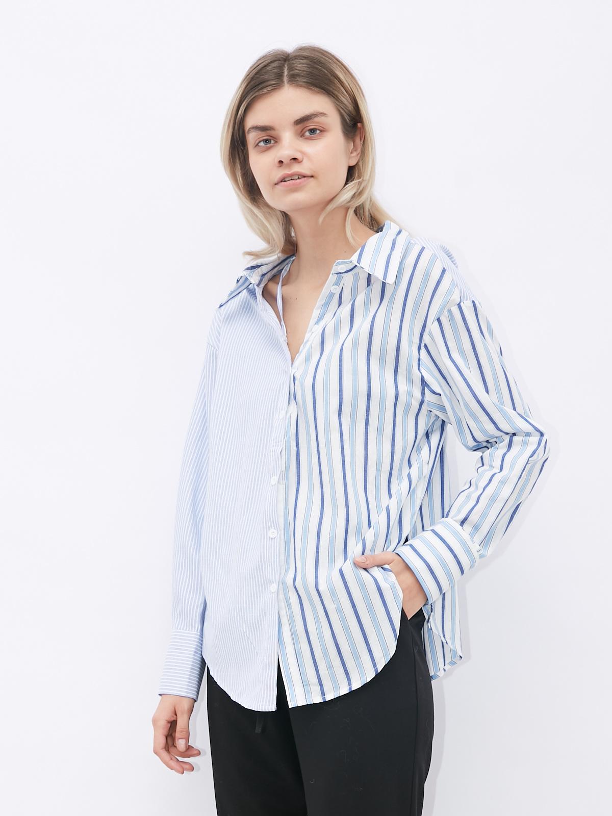 Рубашка трансформер комбинированная