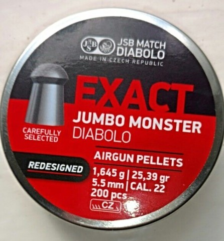 JSB Exact Jumbo Monster REDESIGNED 5,5/1,645